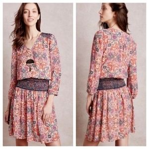 Anthropologie Vanessa Virginia Daytripper Dress